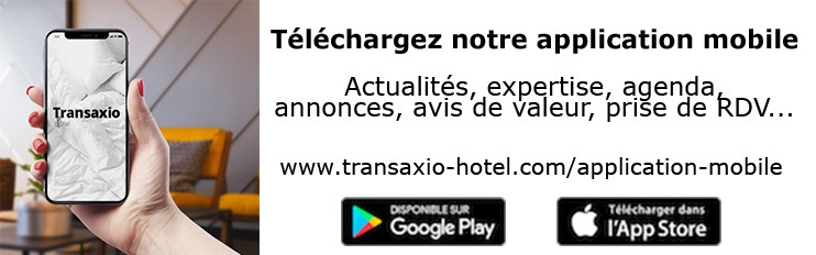 Transaxio Hôtel possède sa propre application mobile iOS/Android